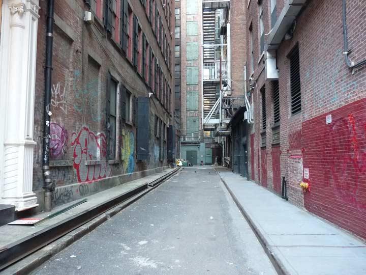 Jones Alley Noho Forgotten New York