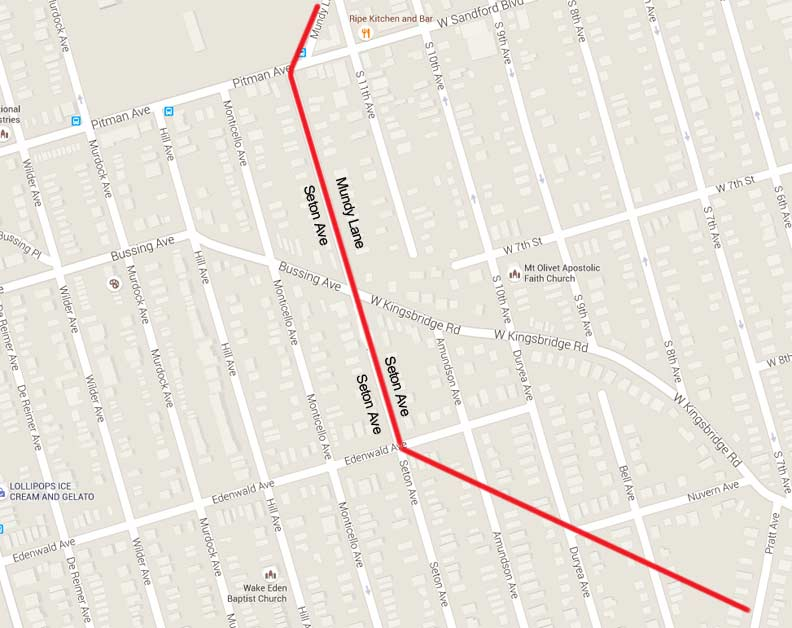 WAKEFIELD And MOUNT VERNON BronxWestchester Part Forgotten - Nyc alternate side parking map