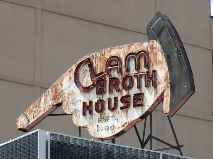 CLAM BROTH HOUSE SITE - Forgotten New York