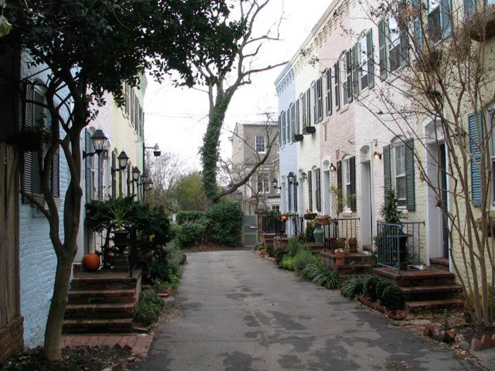 Pomander Walk Georgetown Forgotten New York