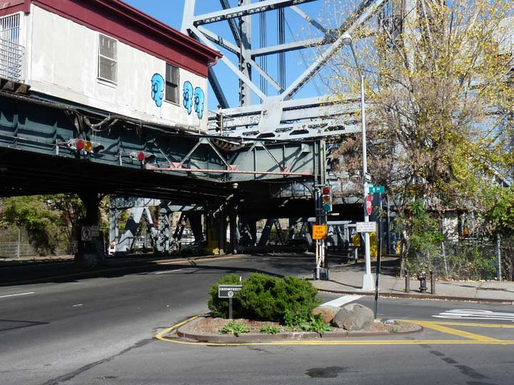 Broadway and 9th Avenue at the Harlem River