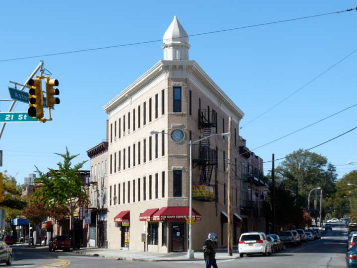 Four Roads Converge At Astoria Square On The Eastern Edge Of Old Astoria  Village, First Established By Fur Merchant Stephen Ailing Halsey In 1839,  ...