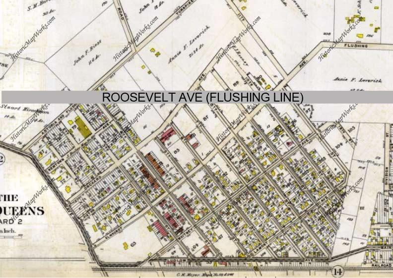 Jackson Heights Subway Map.Flushing Line Centennial Part 3 Forgotten New York