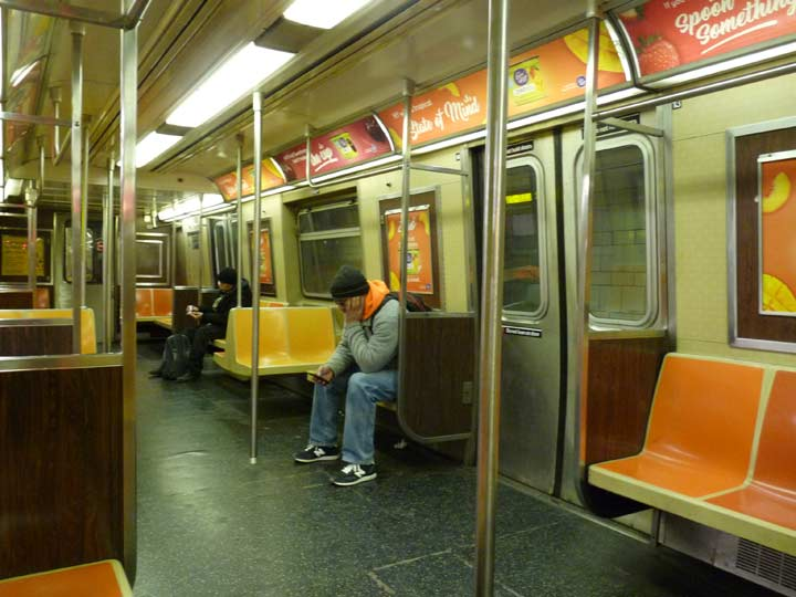 r 46 subway cars forgotten new york. Black Bedroom Furniture Sets. Home Design Ideas